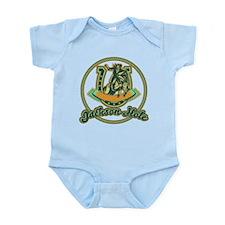 Jackson Hole Cowboy Turquoise Infant Bodysuit