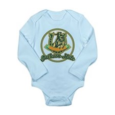 Jackson Hole Cowboy Turquoise Long Sleeve Infant B