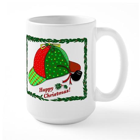 Happy Christmas Large Mug