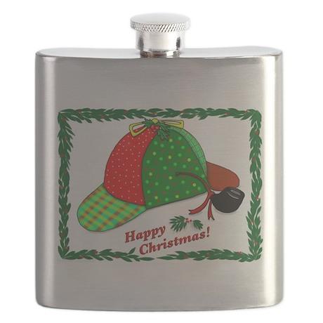 Happy Christmas Flask
