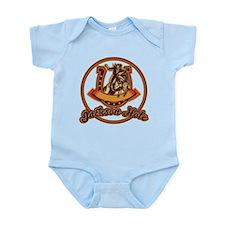 Jackson Hole Cowboy Red Infant Bodysuit