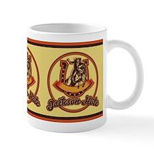 Jackson Hole Cowboy Red Mug