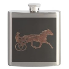 Brown Pacer Silhouette Flask