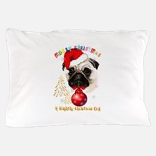 A Very Merry Christmas Pug Pillow Case
