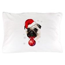 A Very Merry Christmas Pug Pillow Case