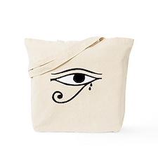Eye of Horus Tears Tote Bag