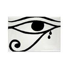 Eye of Horus Tears Rectangle Magnet