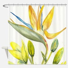 Paradise Watercolor Shower Curtain