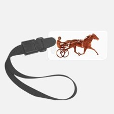 Brown Pacer Silhouette Luggage Tag