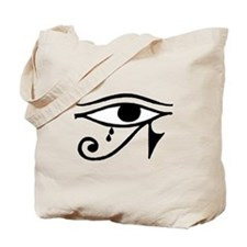Eye of Horus with Tears Tote Bag