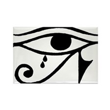 Eye of Horus with Tears Rectangle Magnet
