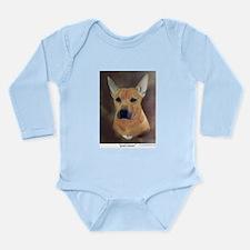 Good Listener Long Sleeve Infant Bodysuit