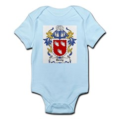 Greig Coat of Arms Infant Creeper