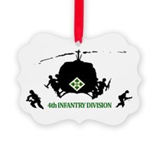 4th INFANTRY DIVISION Ornament