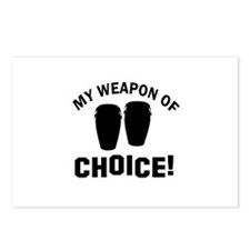 Bongos Weapon Of Choice Postcards (Package of 8)