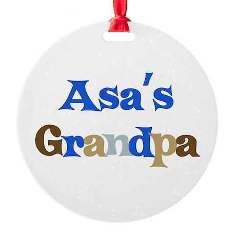 Grandpa_asa.png Round Ornament