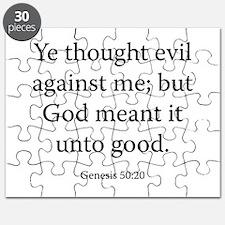 Genesis 50:20 Puzzle