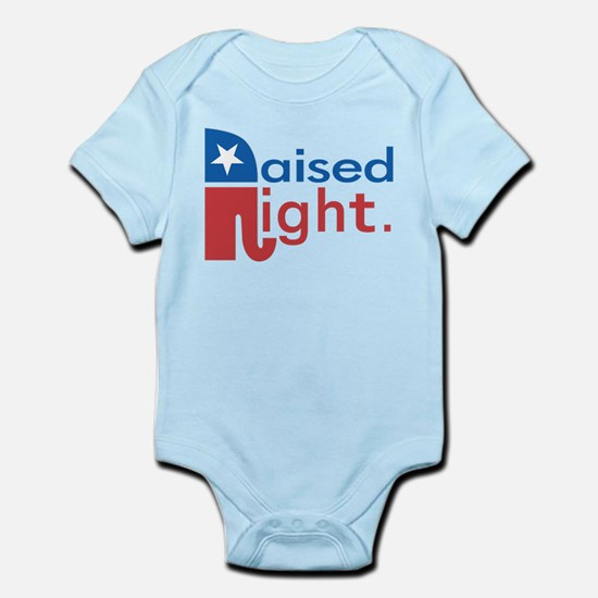 Raised Right Infant Bodysuit
