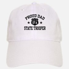 Proud Dad of a State Trooper Baseball Baseball Cap