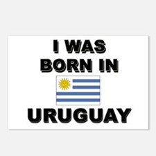 I Was Born In Uruguay Postcards (Package of 8)