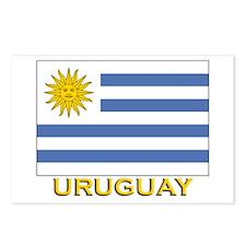 Uruguay Flag Stuff Postcards (Package of 8)