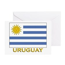 Uruguay Flag Stuff Greeting Cards (Pk of 10)