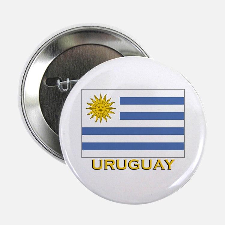 Uruguay Flag Stuff Button