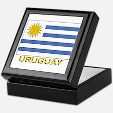 Uruguay Flag Stuff Keepsake Box