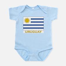 Uruguay Flag Stuff Infant Creeper