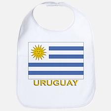 Uruguay Flag Stuff Bib