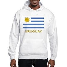 Uruguay Flag Stuff Hoodie