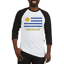 Uruguay Flag Stuff Baseball Jersey