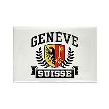 Geneve Suisse Rectangle Magnet