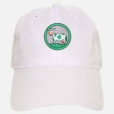 Happy St. Patricks Cow Baseball Baseball Cap