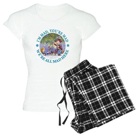 We're All Mad Here Women's Light Pajamas