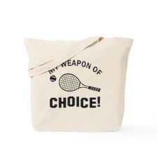 Lawn Tennis designs Tote Bag