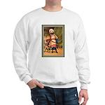 GIRL WITH PUG Sweatshirt