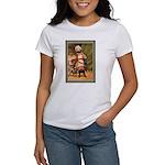 GIRL WITH PUG Women's T-Shirt