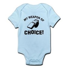 Referee designs Infant Bodysuit