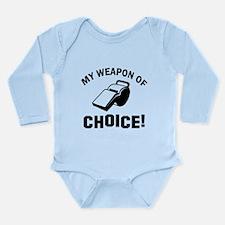 Referee designs Long Sleeve Infant Bodysuit