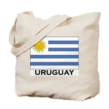 Uruguay Flag Merchandise Tote Bag