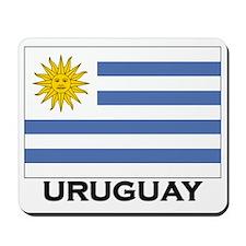 Uruguay Flag Merchandise Mousepad