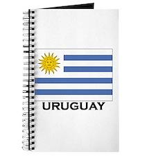 Uruguay Flag Merchandise Journal