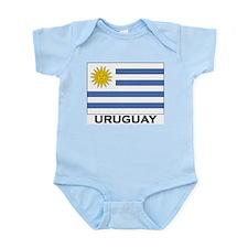 Uruguay Flag Merchandise Infant Creeper