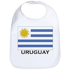 Uruguay Flag Merchandise Bib