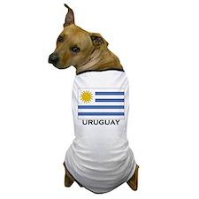 Uruguay Flag Merchandise Dog T-Shirt
