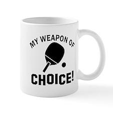 Table Tennis designs Mug