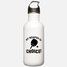 Table Tennis designs Water Bottle