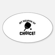 Table Tennis designs Decal