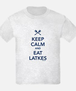 Keep Calm and Eat Latkes T-Shirt